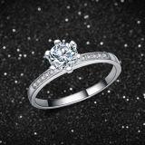 여자 925의 순은 형식 고품질 결혼 반지