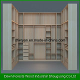 1-4 Tür-Melamin-Spanplatten-Garderobe