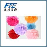 Cores & tamanhos misturados que penduram a flor de papel decorativa