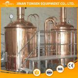 800L醸造装置かクラフトビールは粥の大酒樽によって持ち上げられた発酵槽を絶縁した
