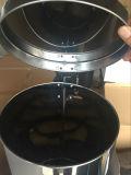 Lata de lixo redonda do escaninho do pedal do aço inoxidável para 20L