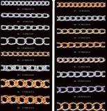 Цепь латуни цепи нержавеющей стали цепи ожерелья цепи золота цепи собаки ключевой цепи цепи утюга цепи шарика цепи ювелирных изделий цепи способа металла цепная