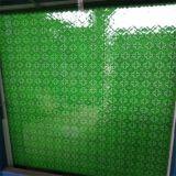vidro modelado verde de 4mm ou vidro figurado