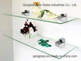 6 - 12 mm Badezimmer-an der Wand befestigte Regal-ausgeglichenes Glas-Innendekoration-Glas