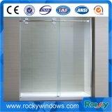 Diseño de gama alta templado vidrio claro Ducha