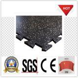 最もよい品質の多彩な連結のゴム製床タイル