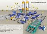 Máquinas concretas de pouco peso do painel do sanduíche da divisória de Tianyi Hotsale