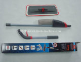 2014 Hot Sell 2-Section Microfiber Spray Flat Cleaning Mop com garrafa de água removível