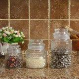 Frasco de vidro/frasco de vidro/Kitchenware/frasco de vidro de Preseving/frasco do atolamento recipiente de vidro/alimento