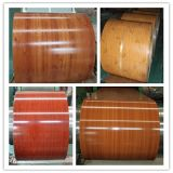 rolo galvanizado do metal de folha de 0.4mm PPGI bobinas grossas para o material de telhadura