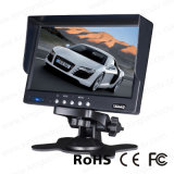 7 pouces Stand Alone TFT LCD Car Rear View Monitor