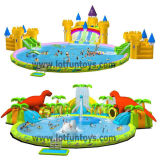 膨脹可能なWaterpark: Different Toys Combination.の水Park