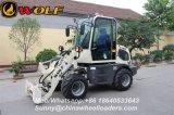 Carregador pequeno do lobo Wl80 com o motor de Yanmar EPA 3