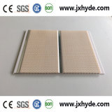 Épaisseur moyenne blanche de la décoration 5/6/7/8mm de plafond de panneau de PVC de cannelure