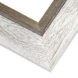 أبيض يشحن خشبيّة صورة مرآة إطار لأنّ بيضيّة