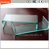 Unregelmäßiges ausgeglichenes verbiegendes Glas für Aufbau und Duschen