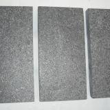 Le mattonelle di pavimentazione della Cina hanno fiammeggiato il granito nero G684