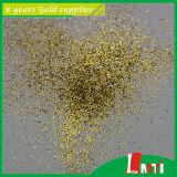 Compras en línea del color del oro del polvo del brillo