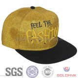 Flat Bill Snapback Cap in Fashion Style