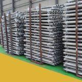 Heißer eingetauchter galvanisierter Stahl-Q235B Bodenschrauben-Anker, Bodenschraube