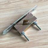 部分を押す金属の管クランプ