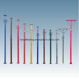apoyo ajustable de acero del apuntalamiento de 2000-3500m m para la construcción