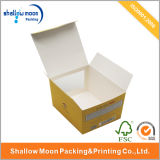 SpitzenSelling Cardboard Packaging Box mit Clear Window (AZ-121909)