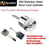 Edelstahl-Tür-Verriegelungs-Zylinder des neuen Produkt-304