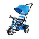 Triciclo novo do carrinho de criança de 2017 miúdos do dossel da tela do Knit