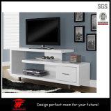 光沢度の高く白く簡単な木TVのキャビネット現代LCD TVの立場のショーケース