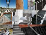 Acier inoxydable Flexmesh/garantie et jardins de mur/treillis métallique inoxidable