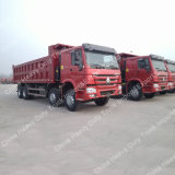 Sino Ladung-Kasten des LKW-371 8X4 15-25m3 50 Tonnen schwere Kipper-LKW-
