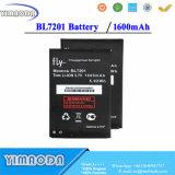 Batterie de téléphone mobile de qualité de Bl7201 1600mAh pour l'accumulateur de la mouche Bl7201 Iq445