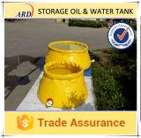 Tipo de dobramento tanque de armazenamento inflável dos galão do delicado 3000