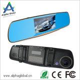 5 Box Negro pulgadas Espejo retrovisor de coche para la cámara de grabación dual