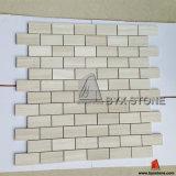 Mosaïques de marbre en bois Polished pour la décoration de mur et d'étage