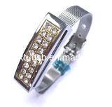 Azionamento dell'istantaneo del USB del braccialetto del diamante (HXQ-JD009)