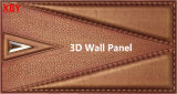 Panneau de mur décoratif du panneau 600*600 3D de revêtement de mur de titre de mur d'écran antibruit