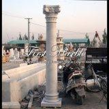 De Kolom van Carrara van Metrix voor Decoratie mcol-306 van het Huis