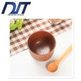 주문품 창조적인 보행 Non-Slip 절연제 자연적인 목제 컵