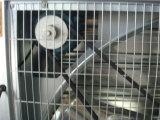 Exaustores e almofada refrigerando corrugada para a casa verde/explorações avícolas/indústria