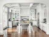 Armadio da cucina 2016 su ordinazione moderno superiore di legno solido di Welbom