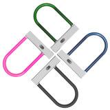 Fechamento esperto da porta do cabo do cabo flexível do pé do escritório do U-Fechamento da bicicleta de Bluetooth da alta segurança