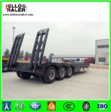3 as Lowbed Semi Trailer 60ton aan 100ton Low Loader Truck Trailer voor Sale
