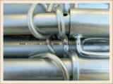 中型の義務によって電流を通される足場調節可能な鋼鉄支柱か構築および建物