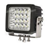 방수 6inch 100W 높은 루멘 LED 기계 일 램프