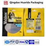 Sacos personalizados do alimento do saco/gato do alimento de animal de estimação do empacotamento plástico do projeto