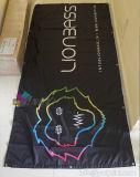 Изготовленный на заказ дешевая сублимация краски рекламируя знамя флага полиэфира индикации