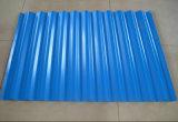 Folha ondulada de aço da telhadura dos produtos de aço do material de construção PPGI