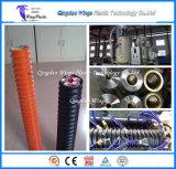 Kabeljau-Rohr, das Maschine/Plastikkabeljau-Rohr-Strangpresßling zeichnen lässt/Plastikrohr-Extruder